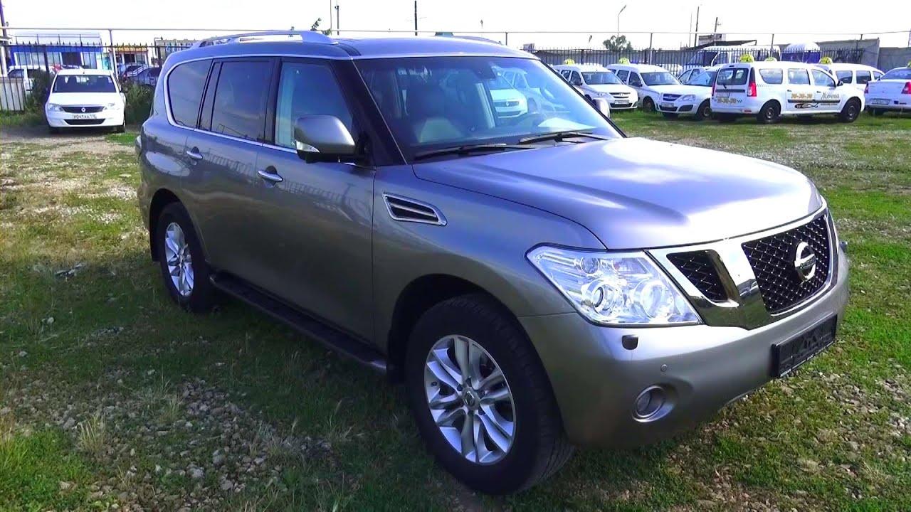 Nissan patrol y62 review