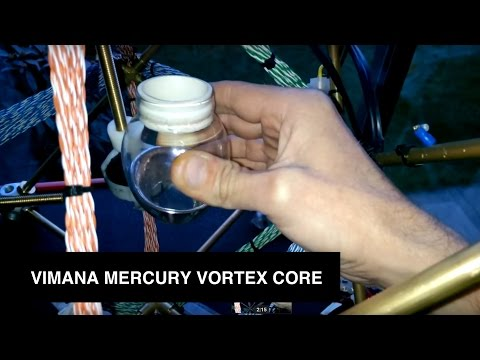 Liquid mercury vortex, Vimana, anti gravity, free energy, Merkaba secret.