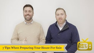 7 Tips for preparing your house for sale