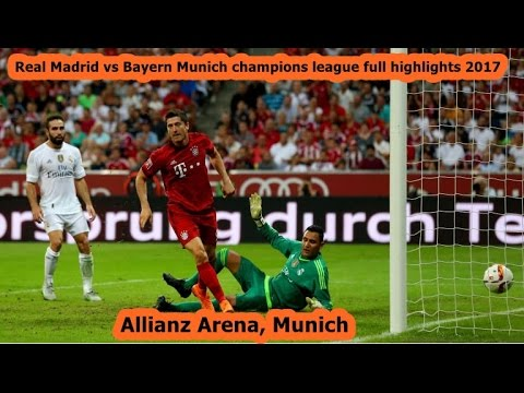 FC Bayern Munich vs Real Madrid Champions League |full highilghts HD | quarter finals all goals