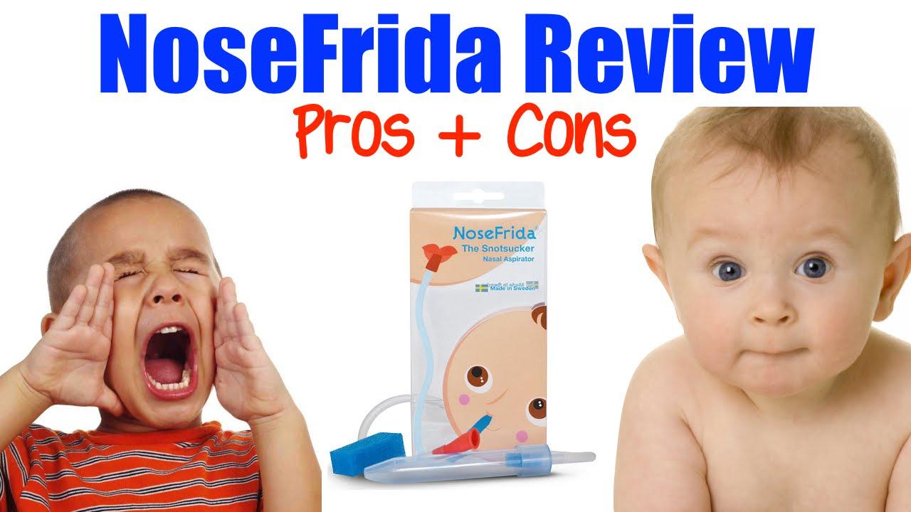 NoseFrida Review - Nasal Aspirator Pros & Cons - YouTube