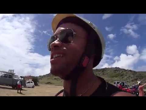 St Maarten ATV Adventure and Orient Beach!! NUDE BEACH!