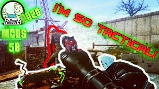 PERFECT FOR TACTICAL STEALTH - Fallout 4 Mods & More Episode 58