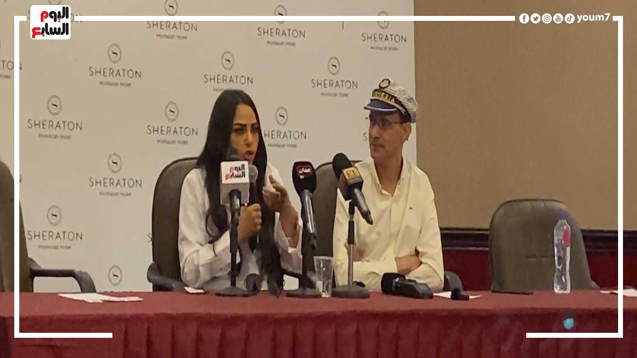ندوة للفنانة سلوى خطاب ضمن فعاليات مهرجان الإسكندرية السينمائي اليوم  - 15:55-2021 / 9 / 26