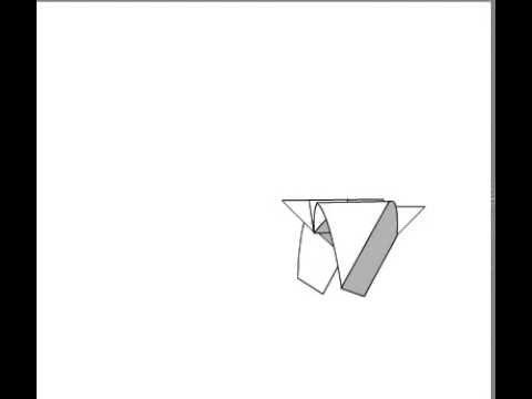 оригами для детей чайка