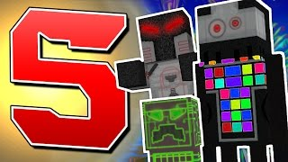 TOP 5 FUTURISTIC Resource Packs for Minecraft!!