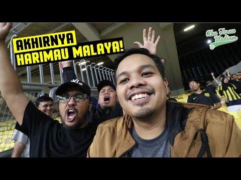 Akhirnya HARIMAU MALAYA! | Persahabatan Kebangsaan 2018 | #AkuTurunStadium