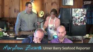 Urner Barry Reporter Newsmagazine Seafood Burger Tasting