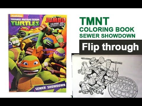 Code Of Honor Teenage Mutant Ninja Turtles Coloring and Activity Book