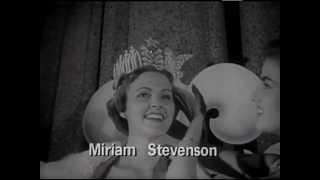 1960's Crest Commercial with 1954 Miss USA Miriam Stevenson and June Lockhart