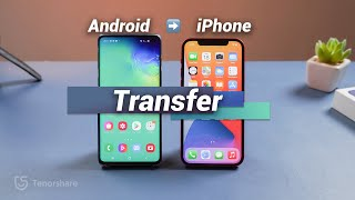 How to Transfer Dąta from Android to iPhone (2 Free Ways)