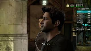 Uncharted 2 Any% PS4 Speedrun 1:15:45