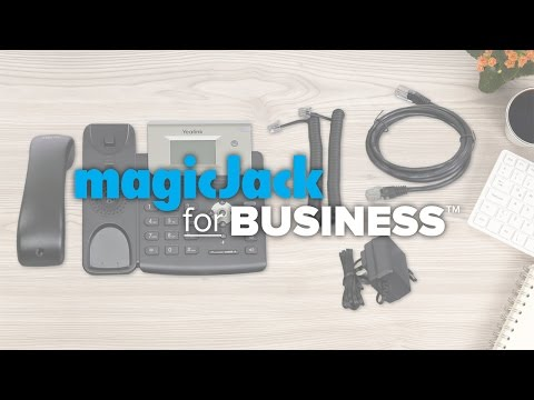 MagicJack For BUSINESS™ Easy Phone Setup For Yealink T21P