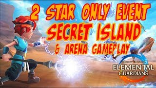 2 Star Secret Island Event & Arena - Might and Magic Elemental Guardian