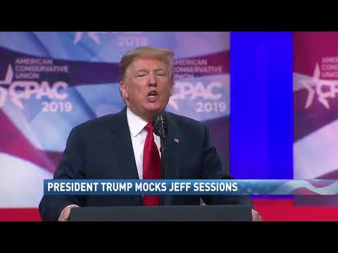 President Trump mocks Jeff Sessions - NBC 15 News WPMI