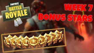 WEEK 7 BONUS STAR LOCATION + BLOCKBUSTER SKIN! - SEASON 4 (Fortnite Battle Royale)