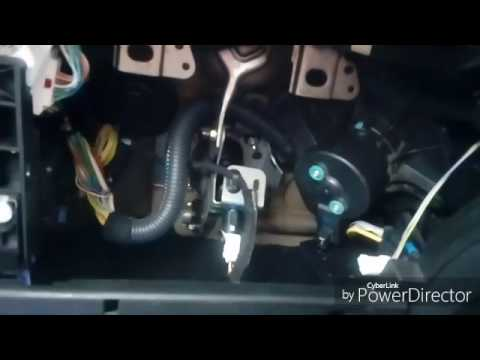 Peugeot 307 heater blower fan and resistor removal - YouTube