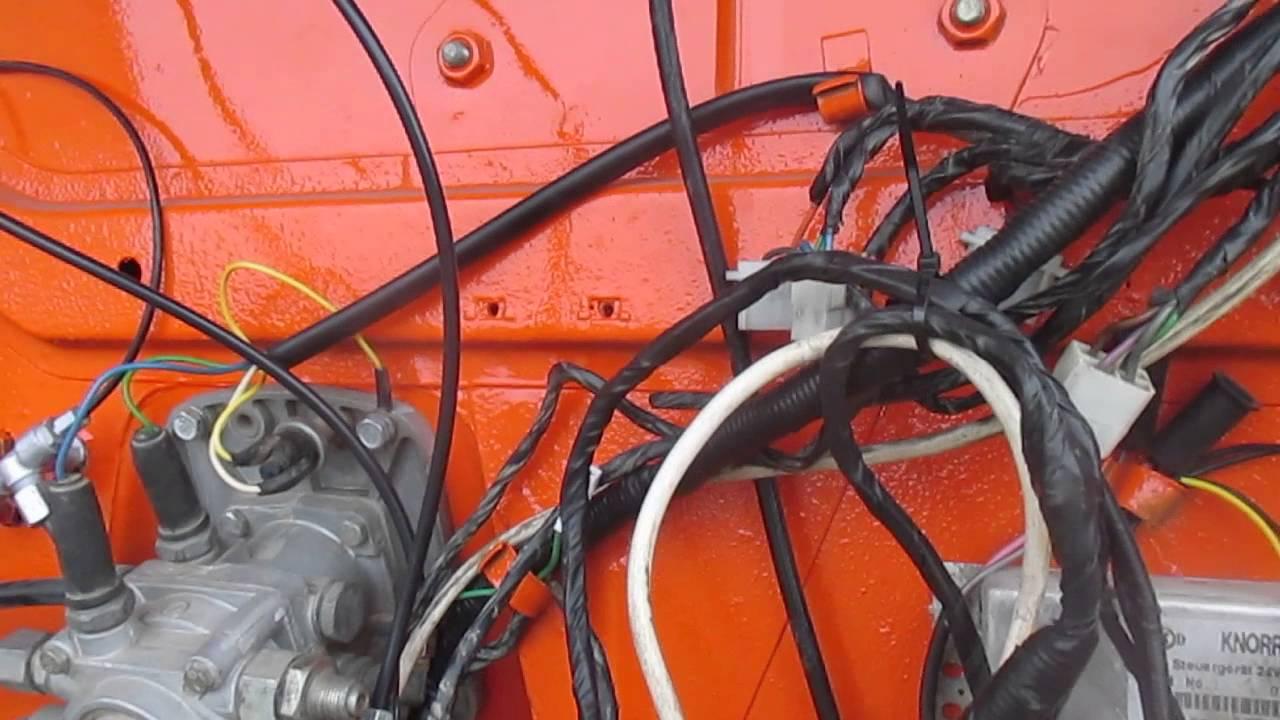 Кабина КАМАЗ 6520, ЕВРО-2, оранжевый