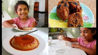 Cooking With Maha Kutty - 2 Stunning Steamed Pudding - Yummy Tummy Vlog