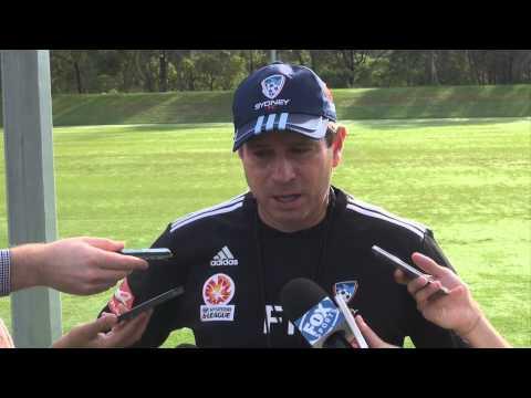 Frank Farina Pre Newcastle Jets