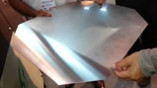 Single head blank circal and sheet polishing machine