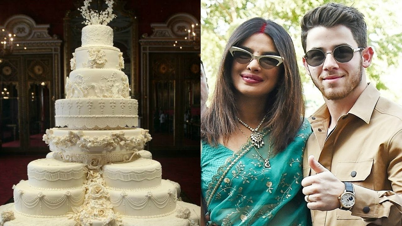 Priyanka Chopra And Nick Jonas 18 Feet Wedding Cake Youtube