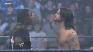 WWE Smackdown CM Punk VS. R-Truth part 1   11.13.09 **720p HD**