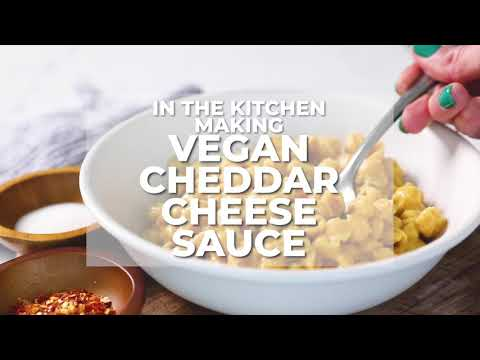 Easy Vegan Cheese Sauce for Mac and Cheese (Two Ways!)