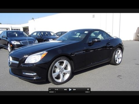2012 Mercedes-Benz SLK350 Roadster Start Up, Exhaust, and In Depth Tour