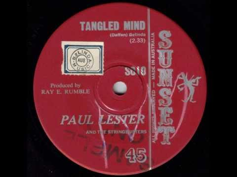 Paul Lester & The Stringdusters - Tangled Mind (Australian Country Music) (Original 45)