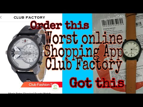 Bekaar Online Shopping Application|| Don't Purchase By Club Factory|| Watch Till The End||