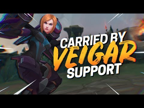Doublelift - CARRIED BY SUPPORT VEIGAR (CoreJJ)