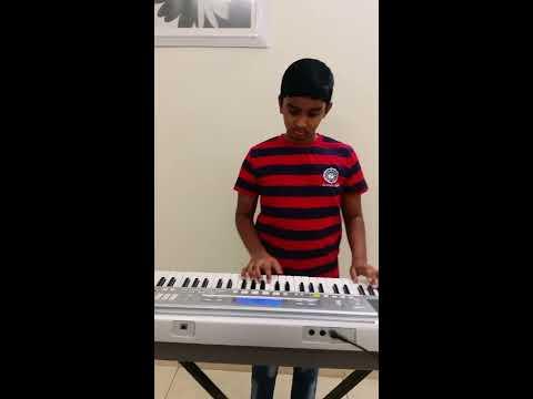 Manohari Song From Bahubali 1 on my Keyboard