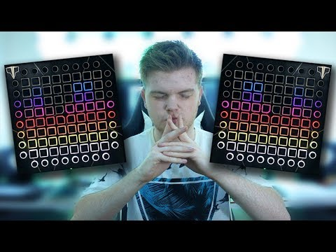 Visualise AUDIO With A LAUNCHPAD