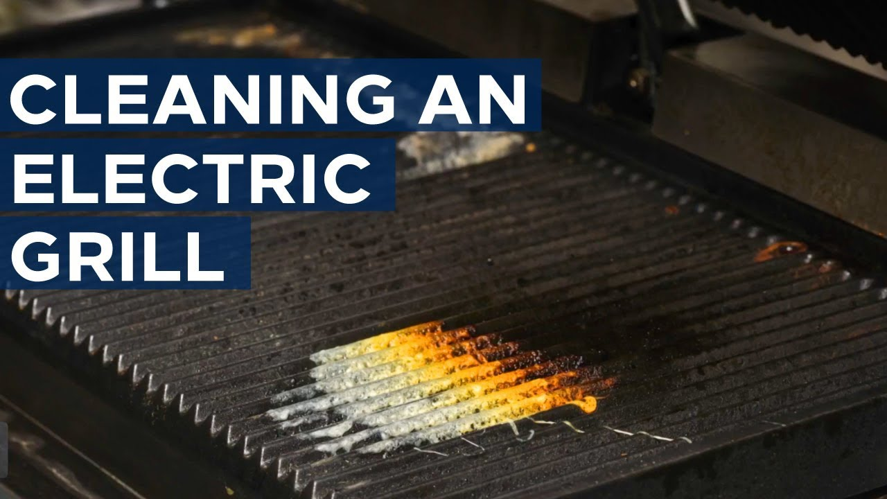 How to Clean an Electric Grill - Get appliance insights on top ...