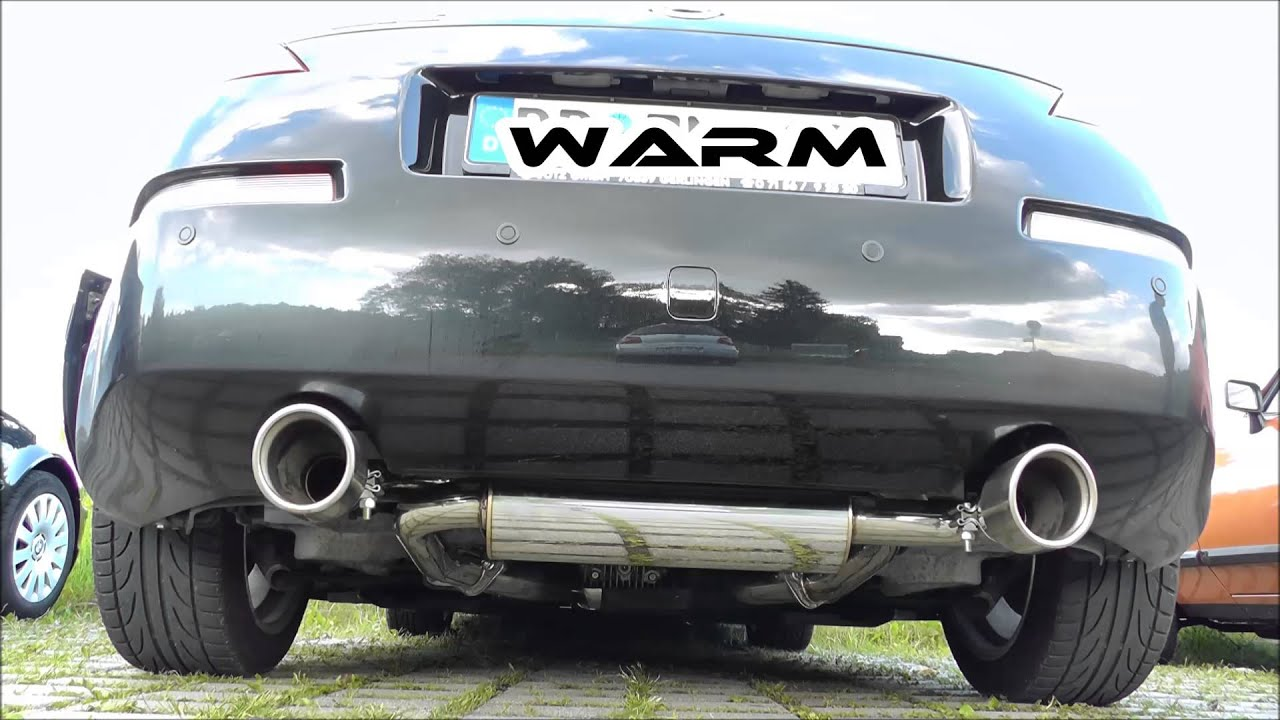 nissan 350z with invidia gemini catback exhaust