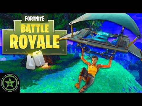 Let's Play - Fortnite: Battle Royale - Bush Strats