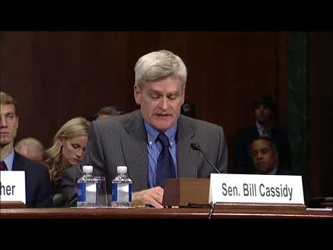 Cassidy introduces Judge Terry Doughty to Senate Committee on the Judiciary