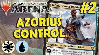 Azorius Control vs Grixis Control #2 (MTG Arena - Free to Play)