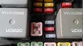 Jeep Liberty 2002 2007 Fuse Box Diagrams Youtube