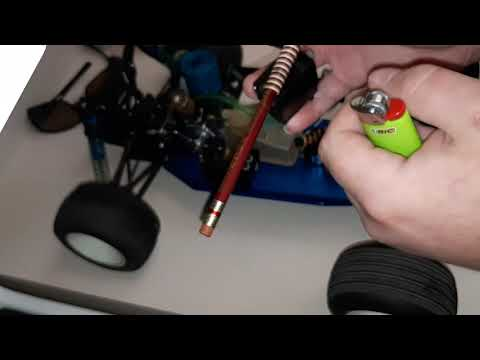 How To Curl Your Servo Wires For RC Cars Neat And Tidy!