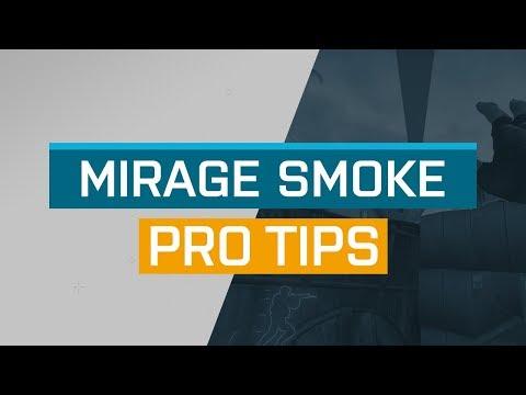 CS:GO - ProTips: Mirage - T Side Top Mid Smoke