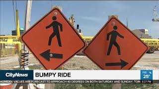 Eglinton Crosstown LRT construction making for bumpy ride