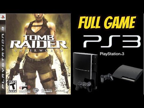 Tomb Raider: UNDERWORLD HD Remastered 100% PS3 Walkthrough ALL SECRETS NO COMMENTARY