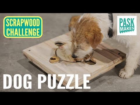 Making a Dog Puzzle - Scrapwood Challenge Day Seven