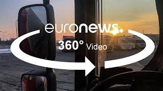 معاناة سائقي الشاحنات الكبيرة الذين يقطعون مسافات طويلة