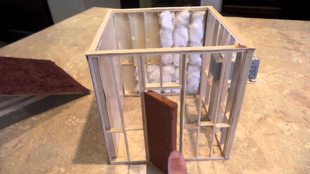 Como hacer cuarto frio 3 5 maqueta youtube - Como hacer una maqueta de una casa ...