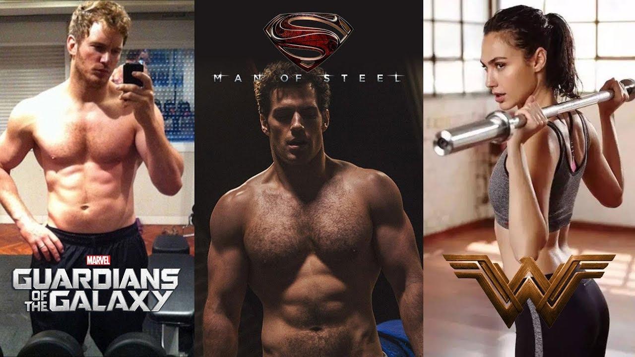 top 10 actor superhero transformations | volume 1 - youtube