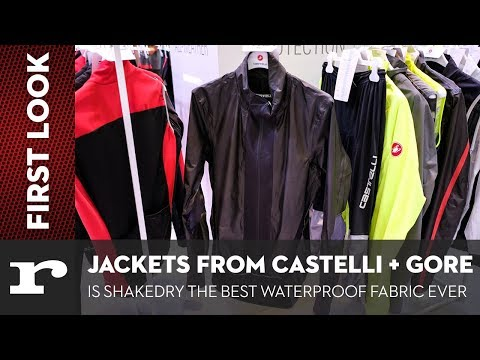 New Shakedry waterproof jackets from Gore and Castelli