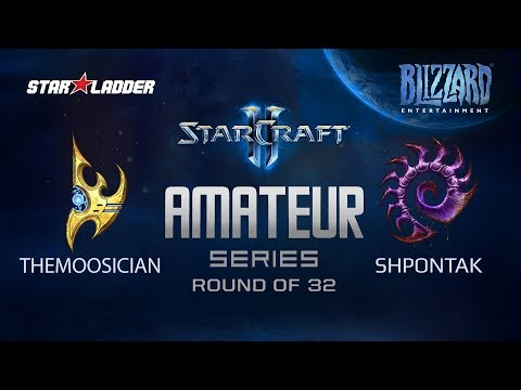 Amateur Series Round Of 32: ThemoOsician (P) Vs Shpontak (Z)
